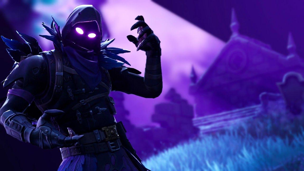 Fortnite Animated Wallpaper - The Raven [Blurred Background] - YouTube