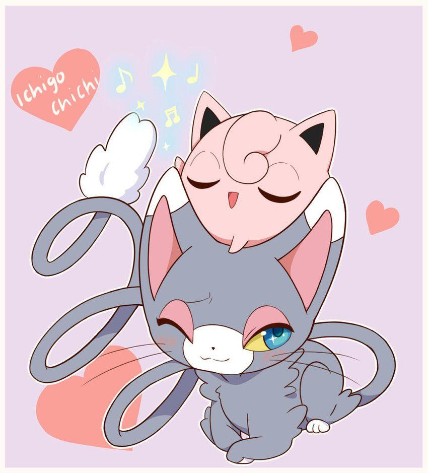 Glameow and Jigglypuff - Jiggly Concert by Ichigochichi on DeviantArt