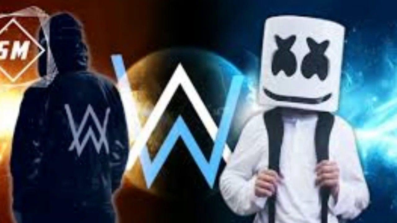 Marshmello And Alan Walker Wallpapers Wallpaper Cave