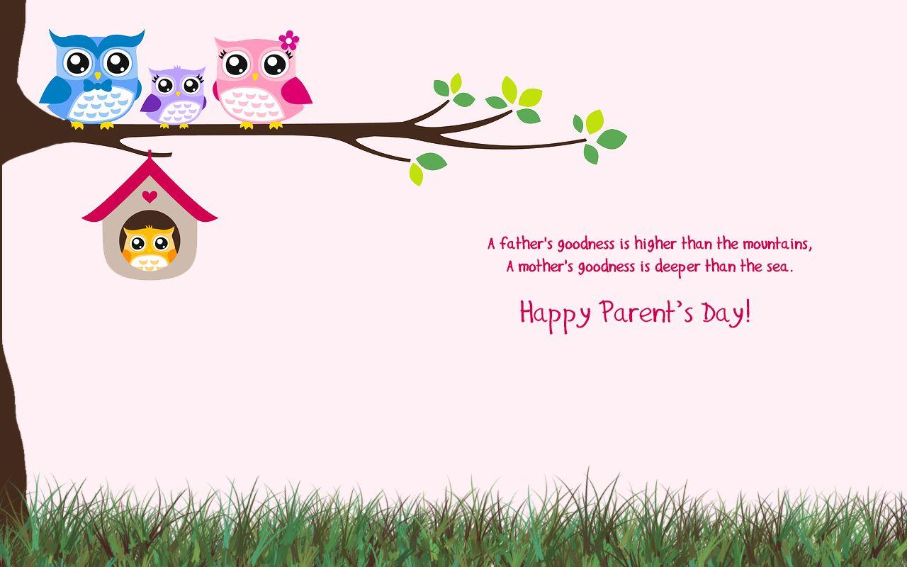 Parents Day Wallpapers | 9To5Animations.Com