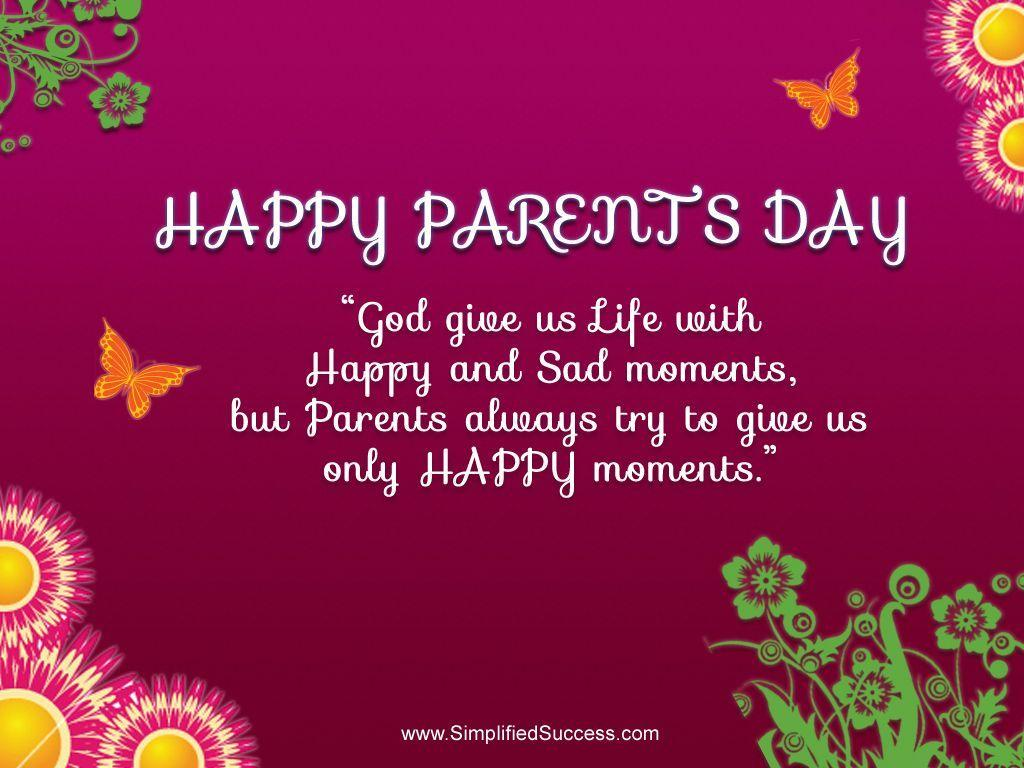 Happy Parents Day 2014 wallpapers, quotes, images and Paintings ...