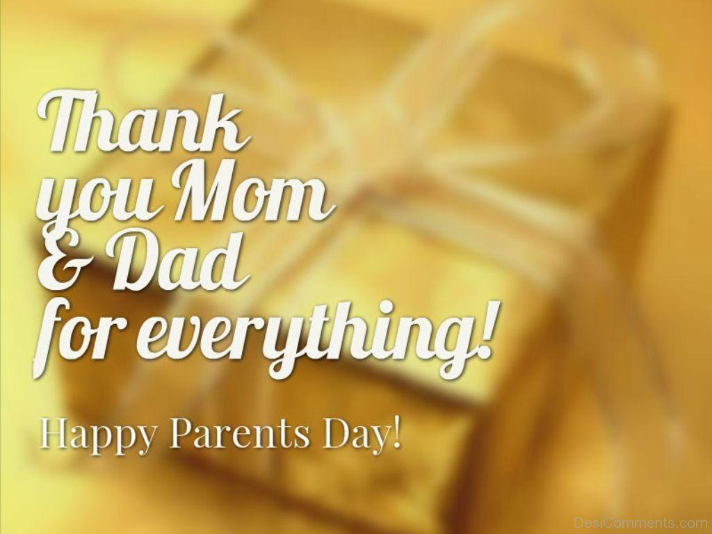 Thank You Mom And Dad For Everything - DesiComments.com