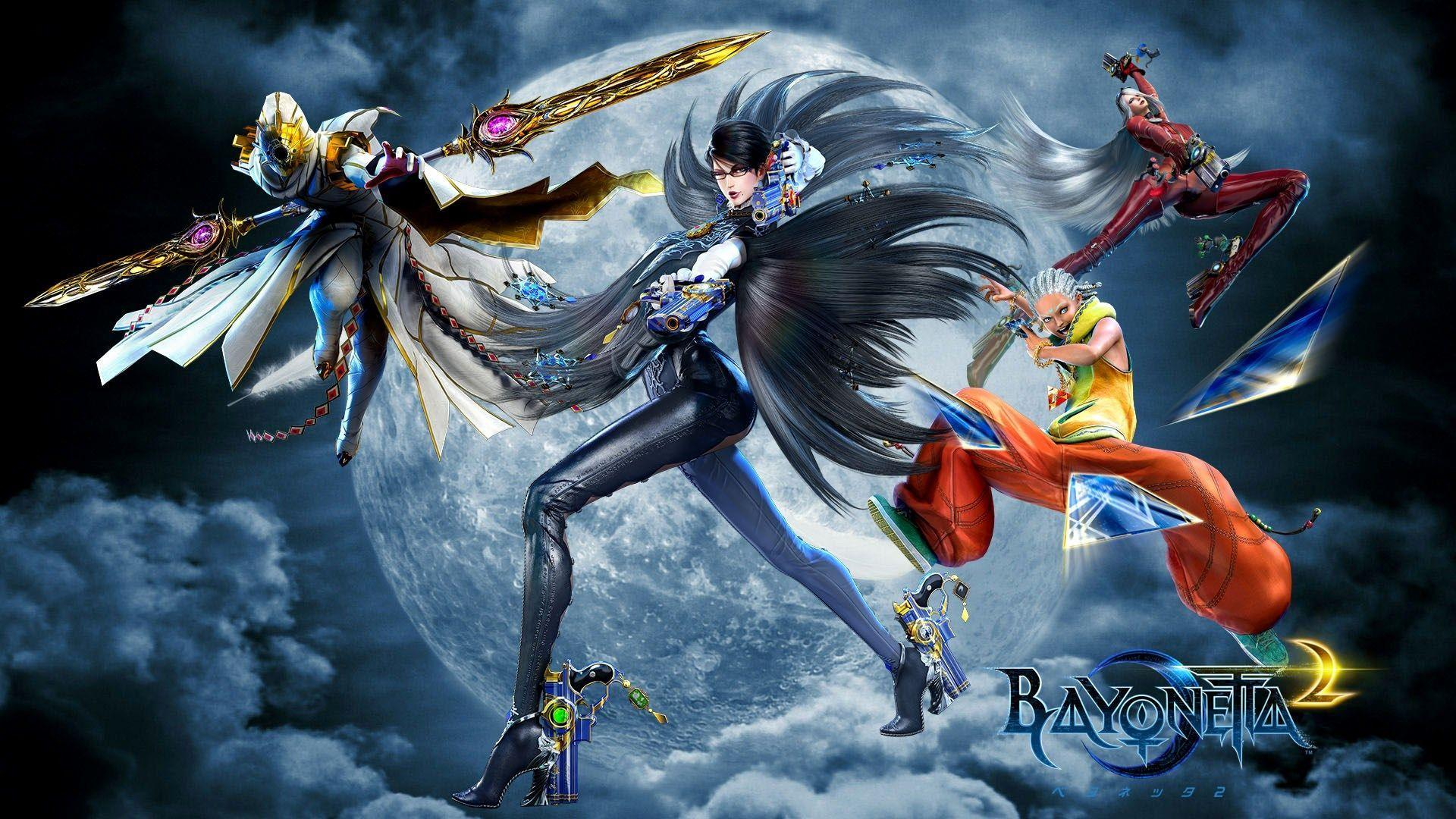 1920x1080 Bayonetta 2 game wallpapers