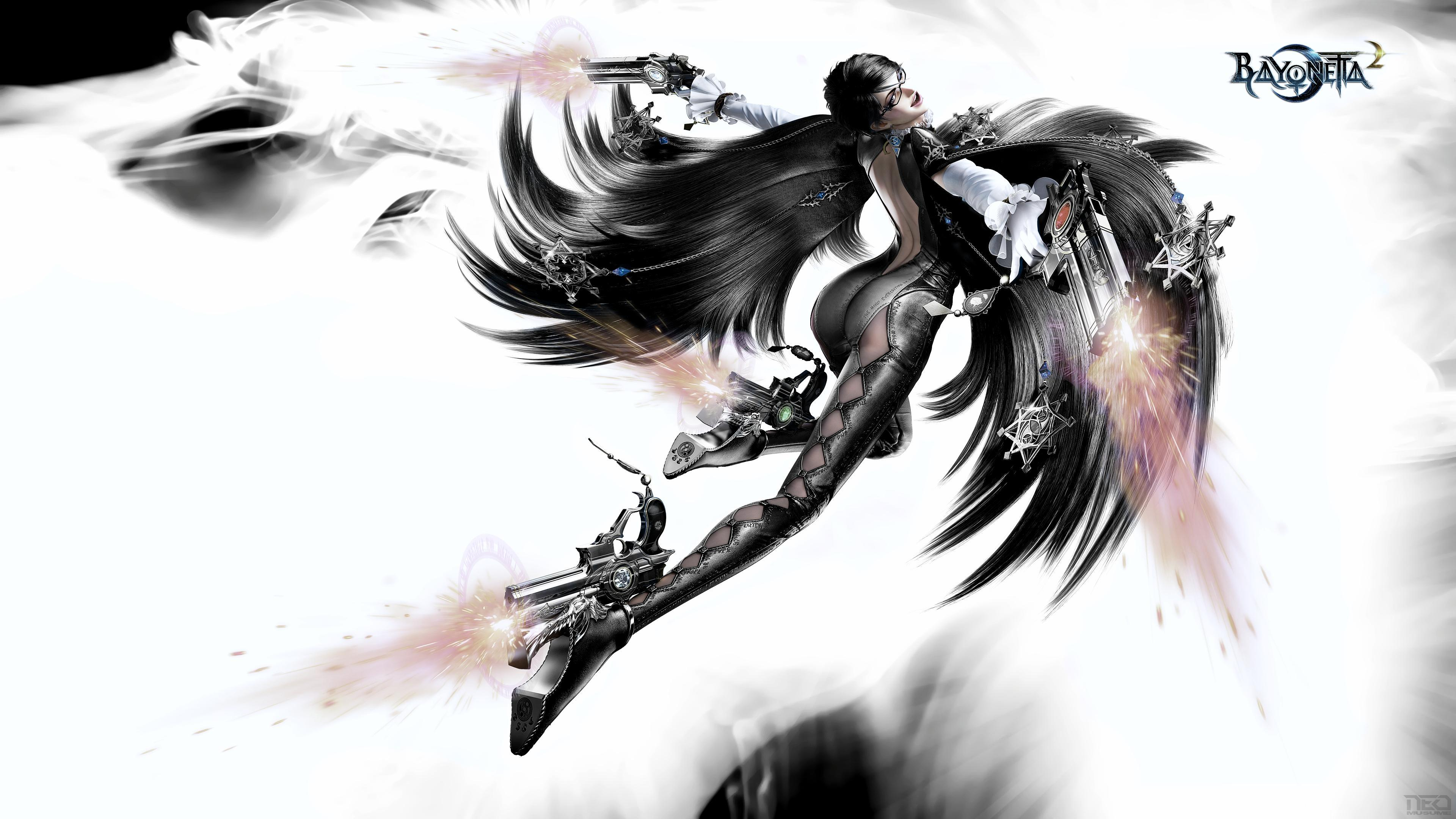Bayonetta 2 Backgrounds 4K Download