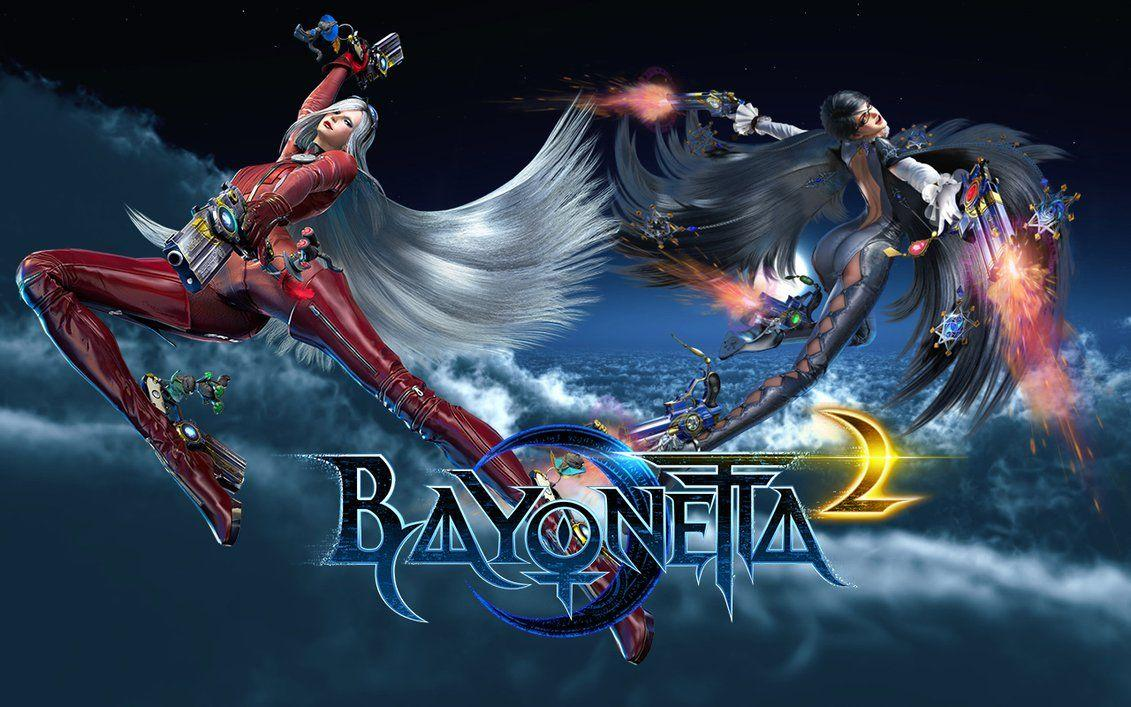 Bayonetta 2 backgrounds by Proverbiallemon