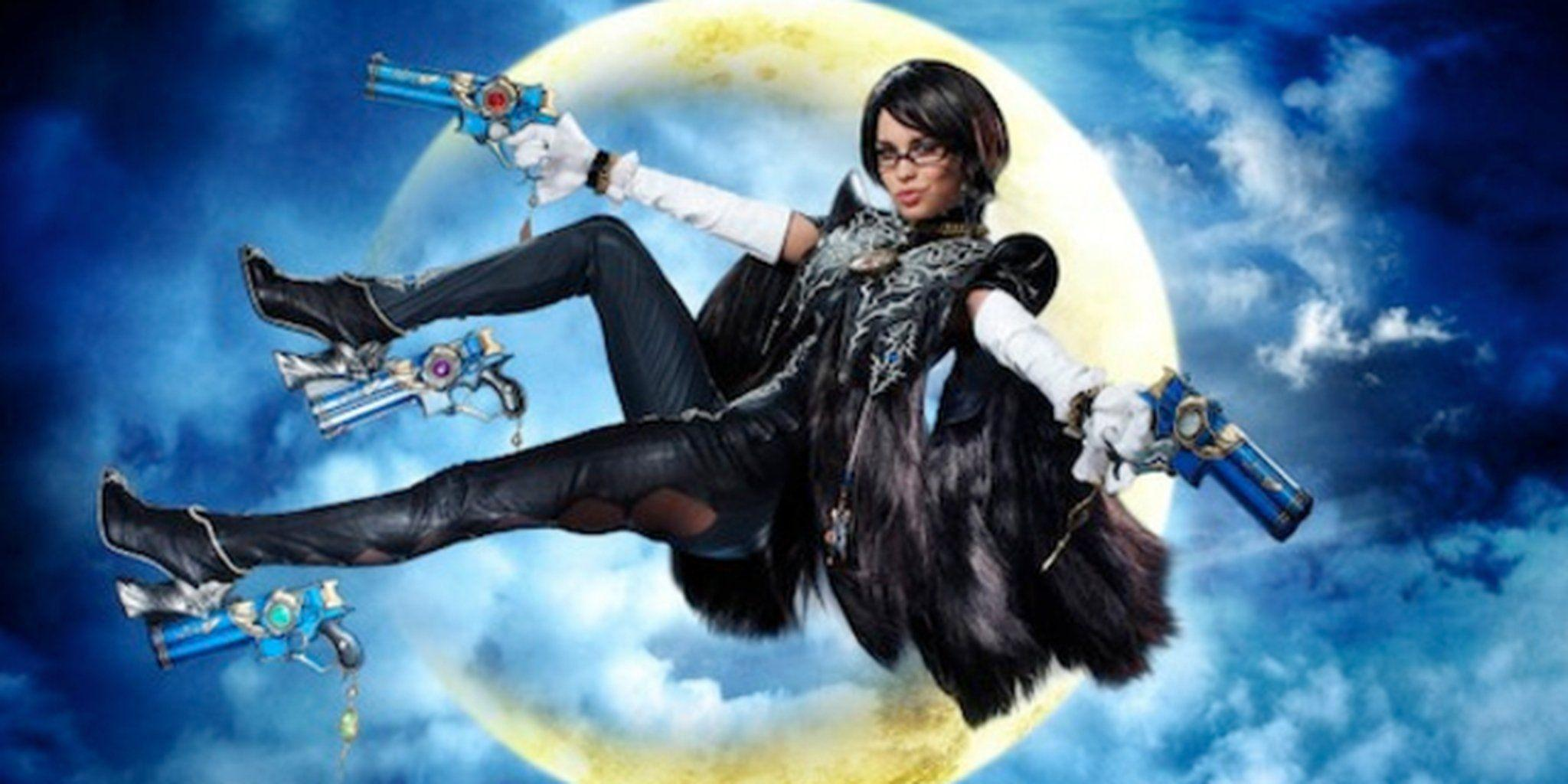 A 'Playboy' Playmate is the face of a new Bayonetta 2 campaign