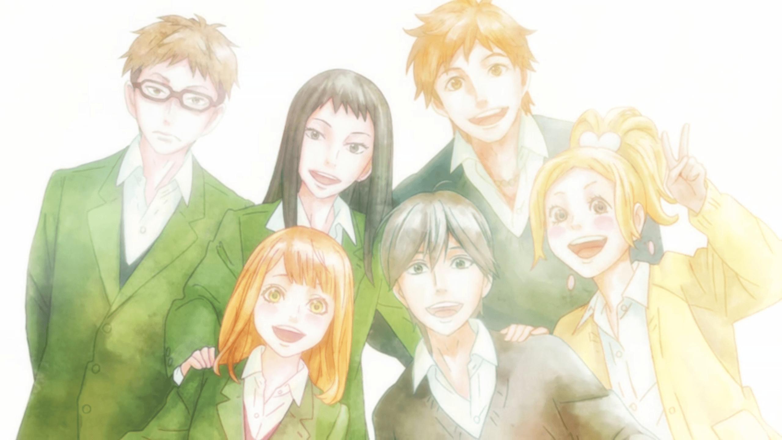 Orange Anime Wallpapers - Wallpaper Cave