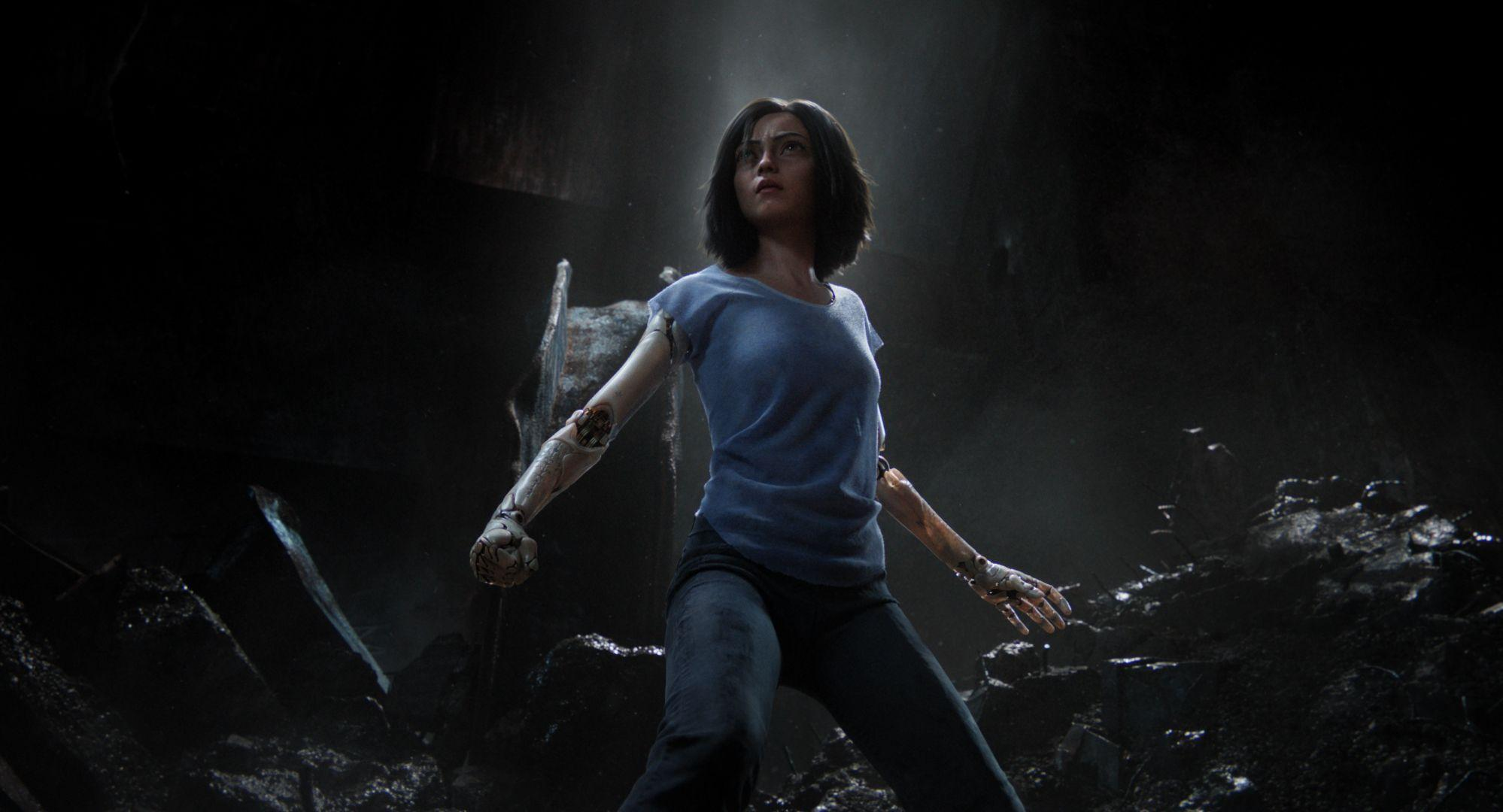 Alita Battle Angel 2018, Full HD 2K Wallpapers
