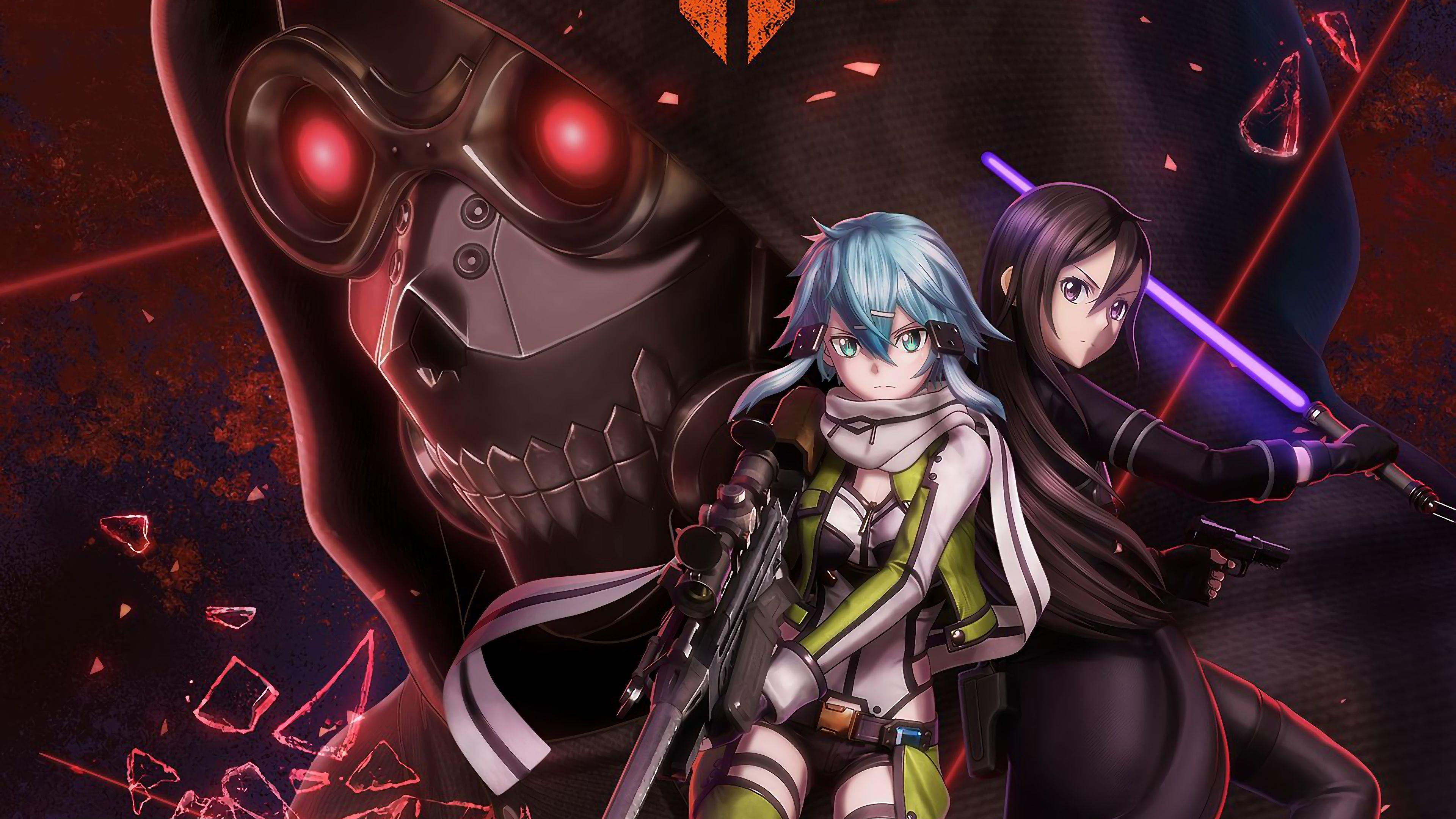 Sword Art Online Fatal Bullet Wallpapers Wallpaper Cave