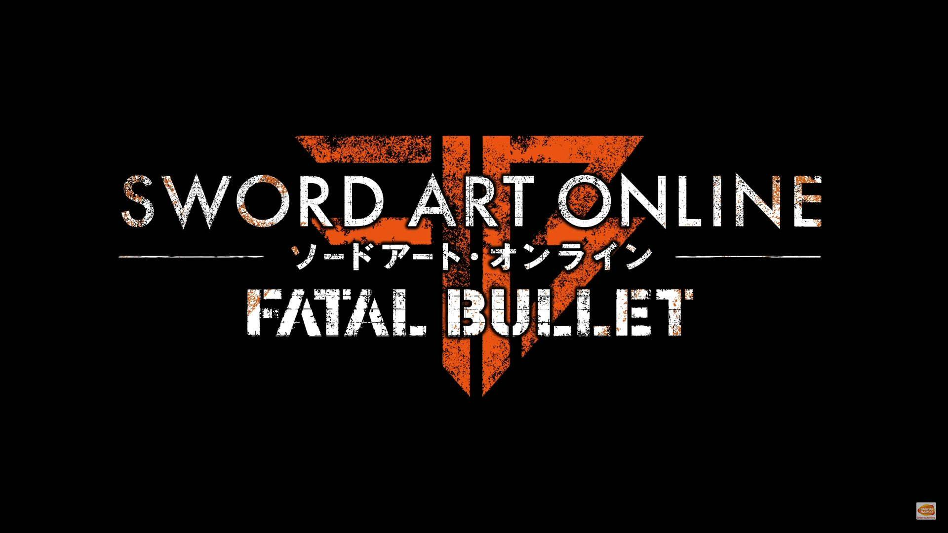 Sword Art Online: Fatal Bullet for PS4, Xbox One and PC Announced