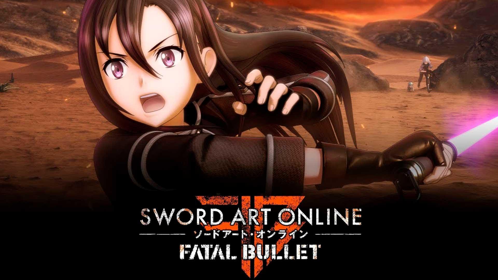 Sword Art Online Fatal Bullet Wallpapers Wallpaper Cave
