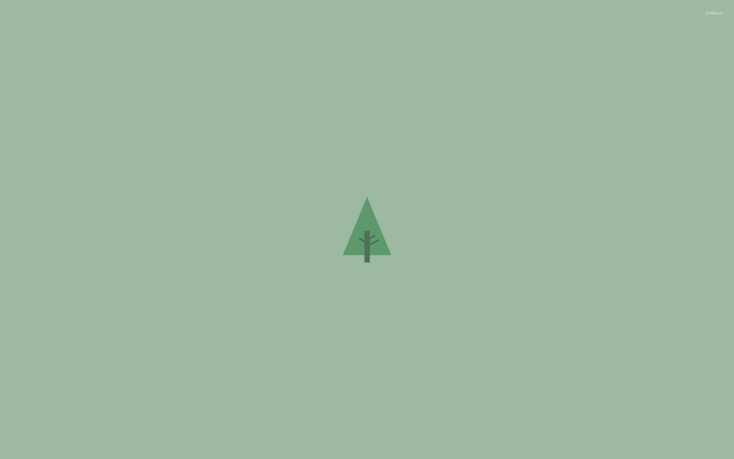 Minimalist Pine Tree: Pine Trees Wallpapers
