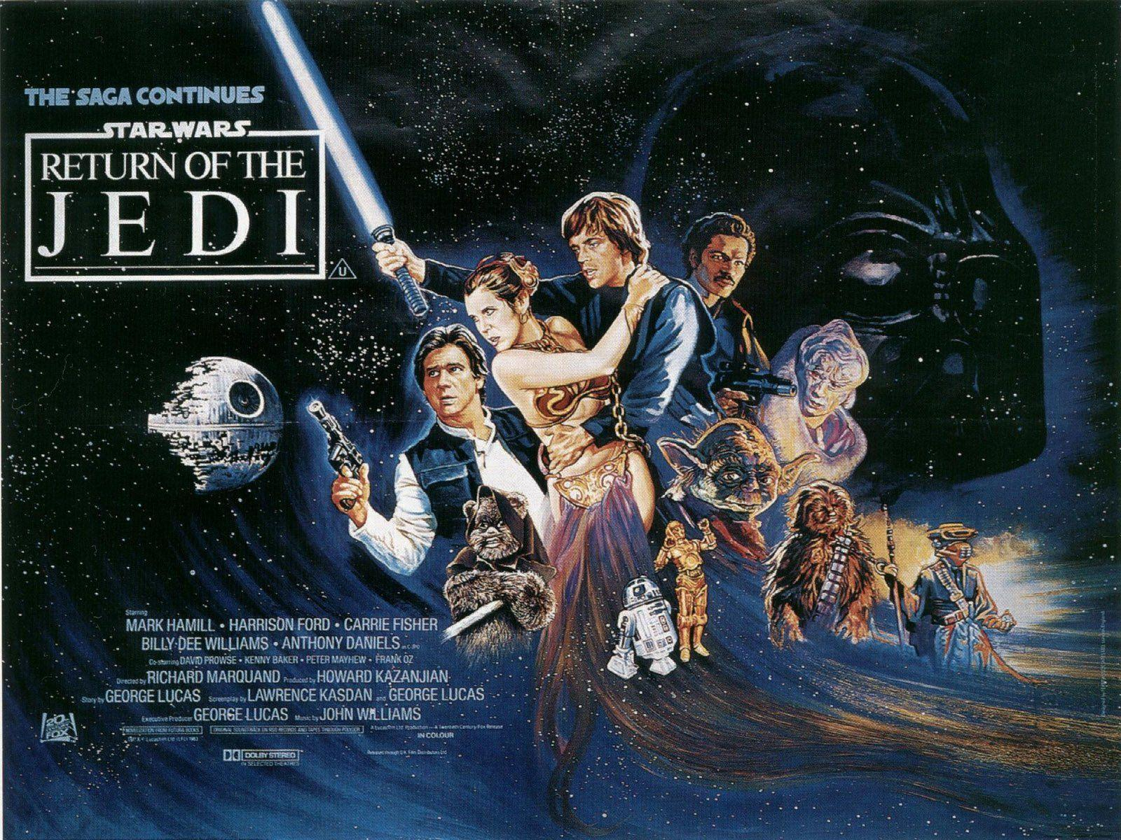 Return Of The Jedi Wallpapers Wallpaper Cave
