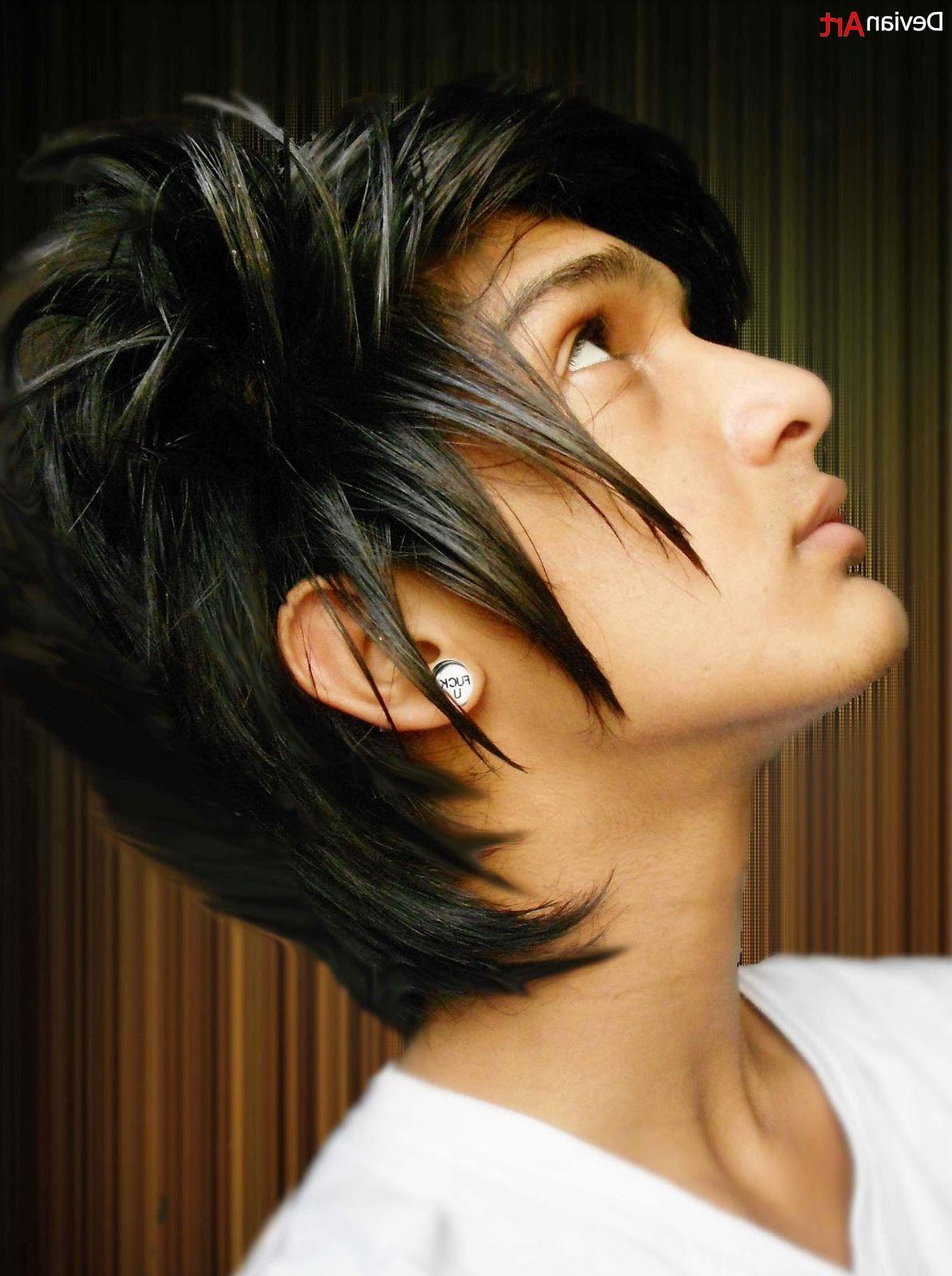 Emo Boys Hair Style Boys Wallpapers Wallpaper Cave