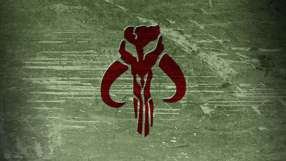 Mandalorian Skull Wallpaper