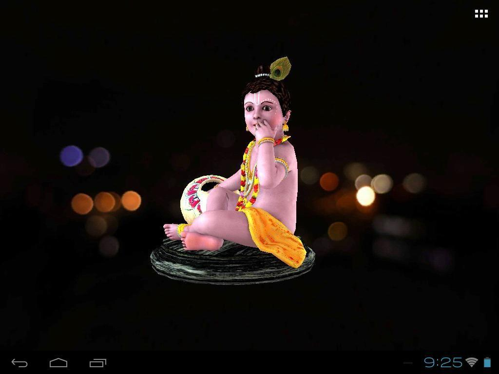 3d Wallpapers Krishna
