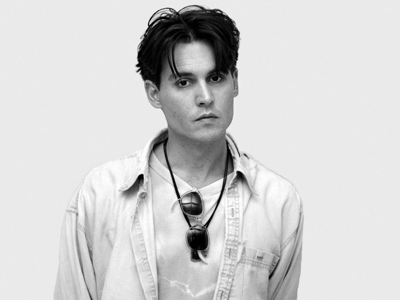 johnny depp young wallpaper iphone