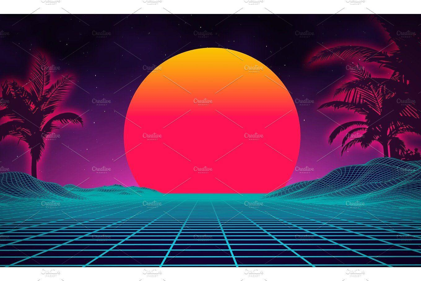 80s Backgrounds Wallpaper Cave