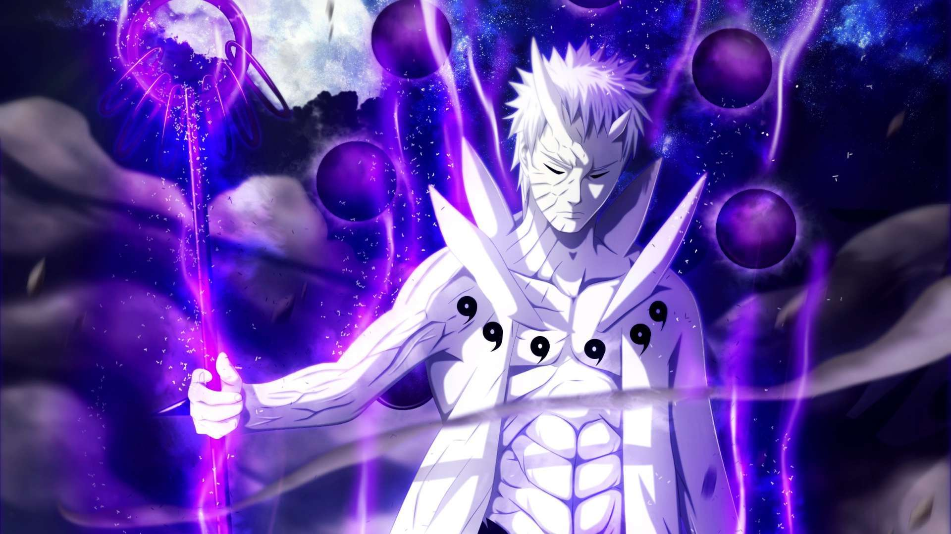 Purple Anime Wallpapers 1080p Wallpaper Cave