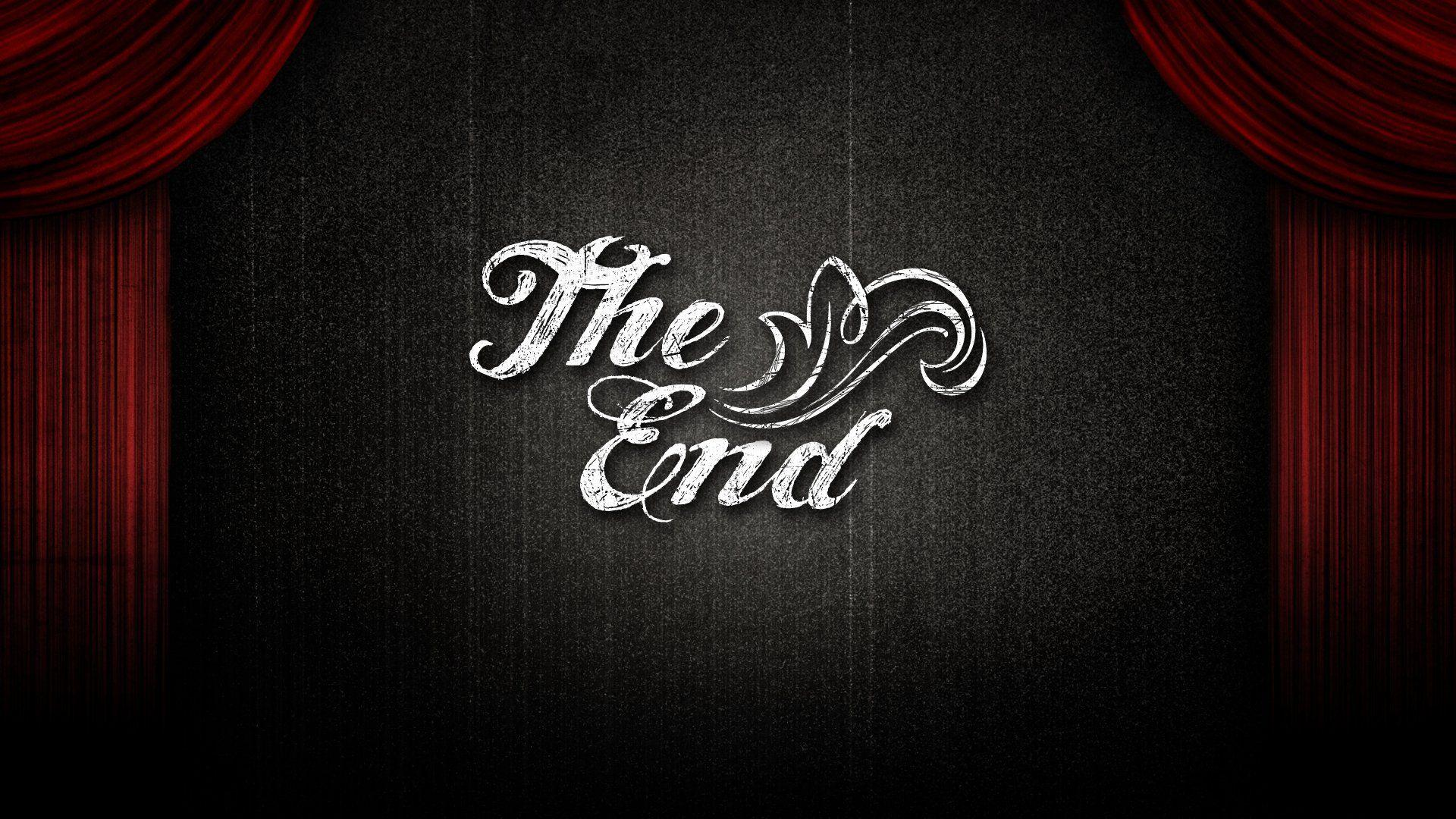 The End Wallpapers Wallpaper Cave