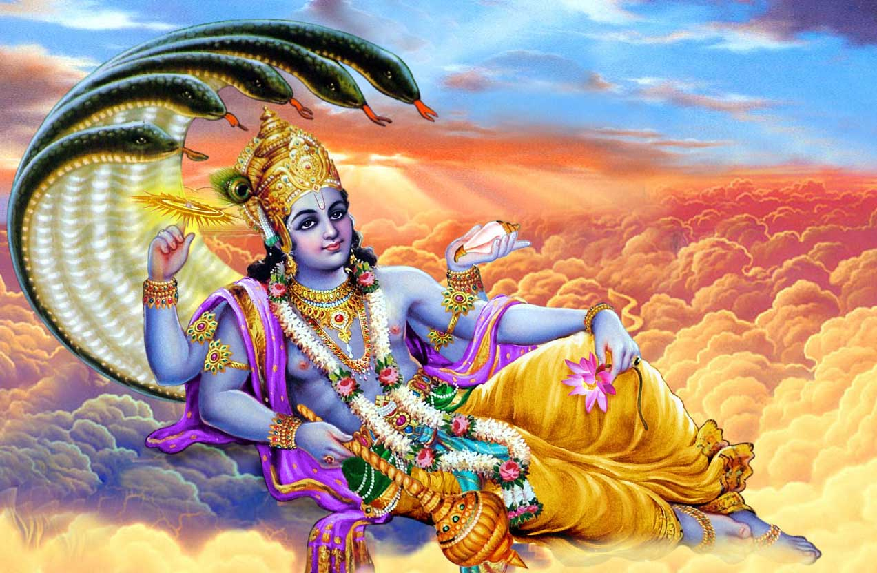 Hindu God Vishnu Wallpapers Wallpaper Cave