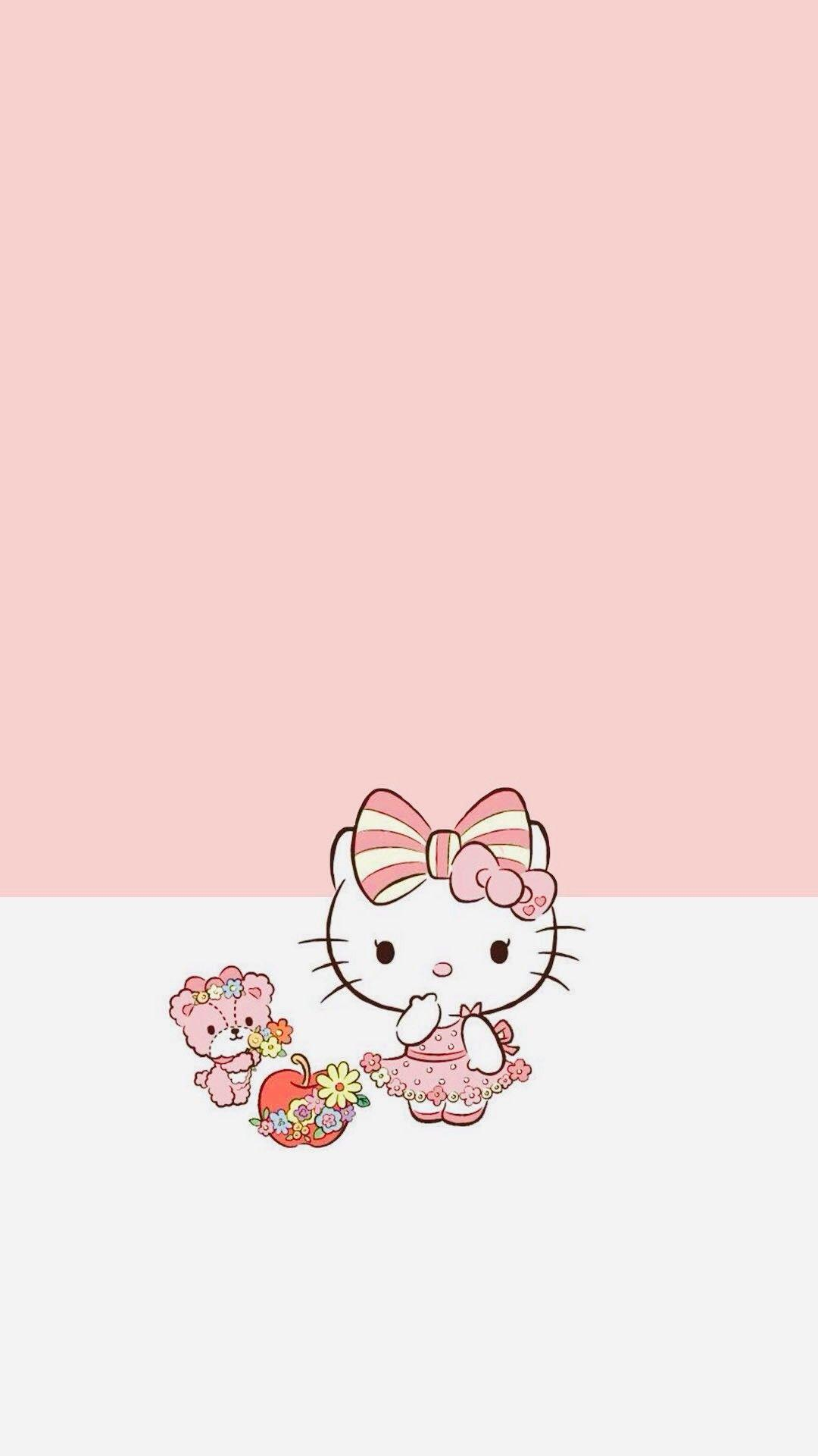 Hello Kitty Iphone Wallpapers Wallpaper Cave