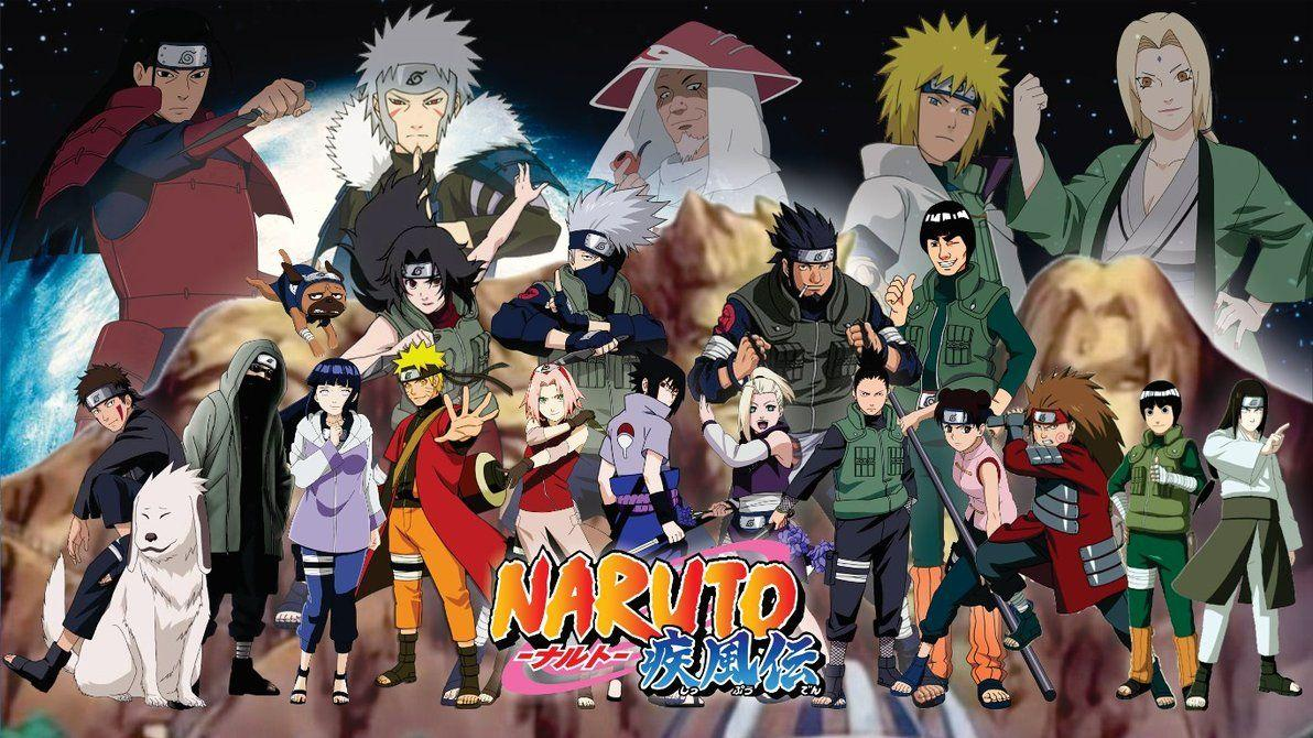 Naruto Characters In Real World Background Wallpaper: Naruto Shippuden All Characters Wallpapers