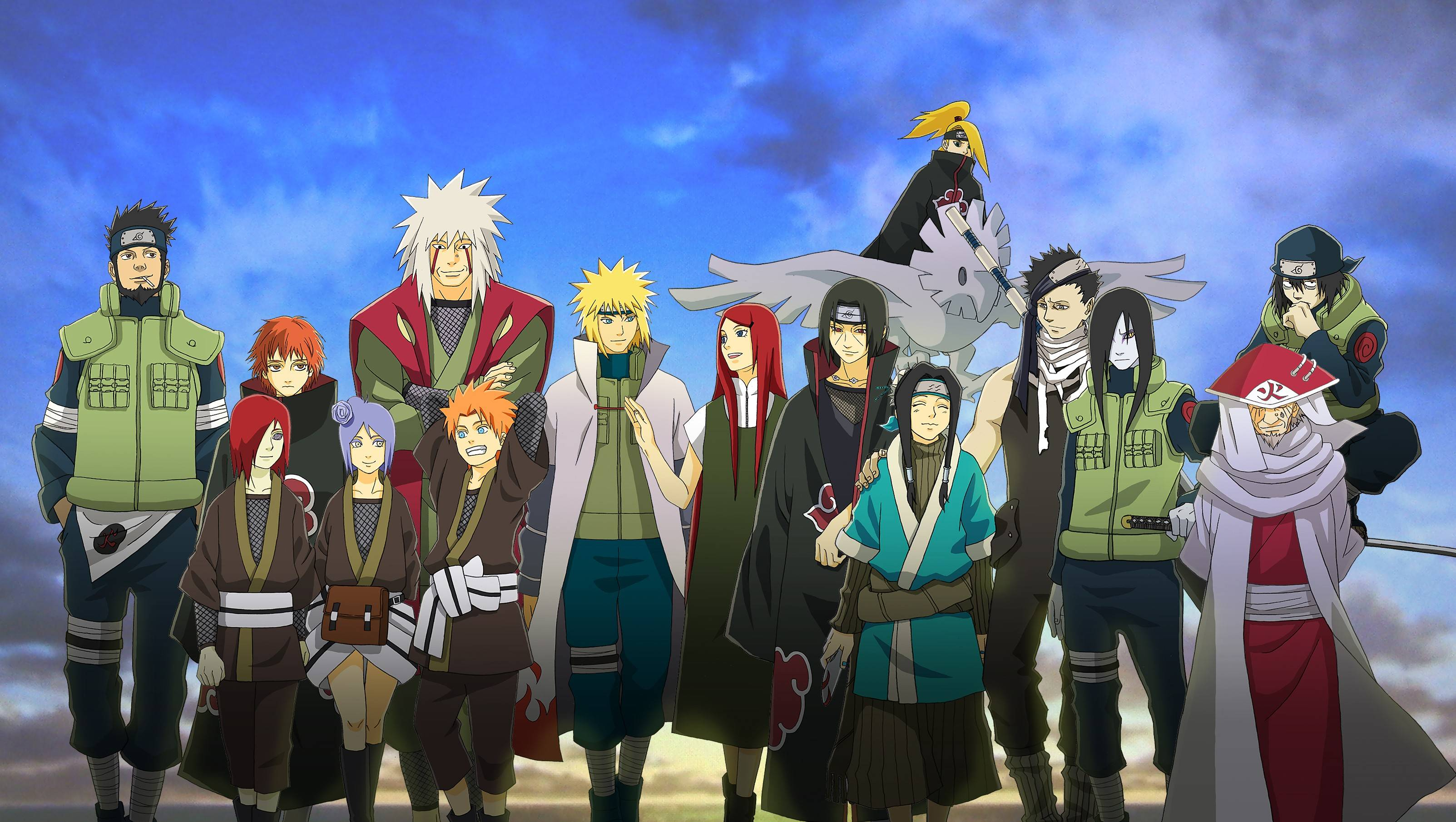 Naruto Shippuden All Characters Wallpapers Wallpaper Cave