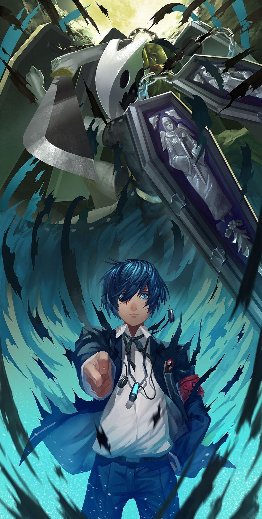 Persona 3 Thanatos Wallpapers - Wallpaper Cave