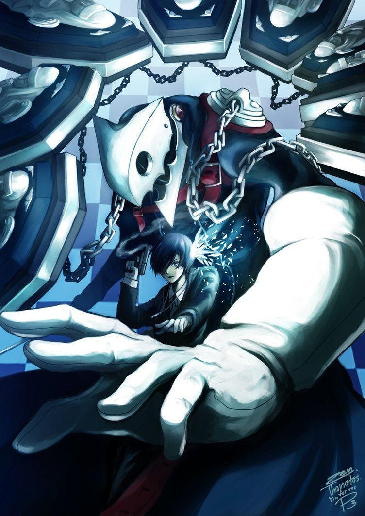 Persona 3 Thanatos Wallpapers Wallpaper Cave