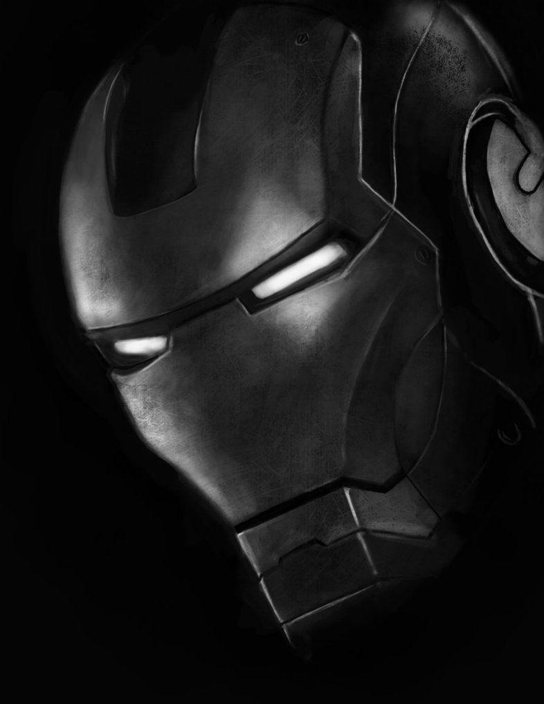 Black Iron Man Wallpapers - Wallpaper Cave