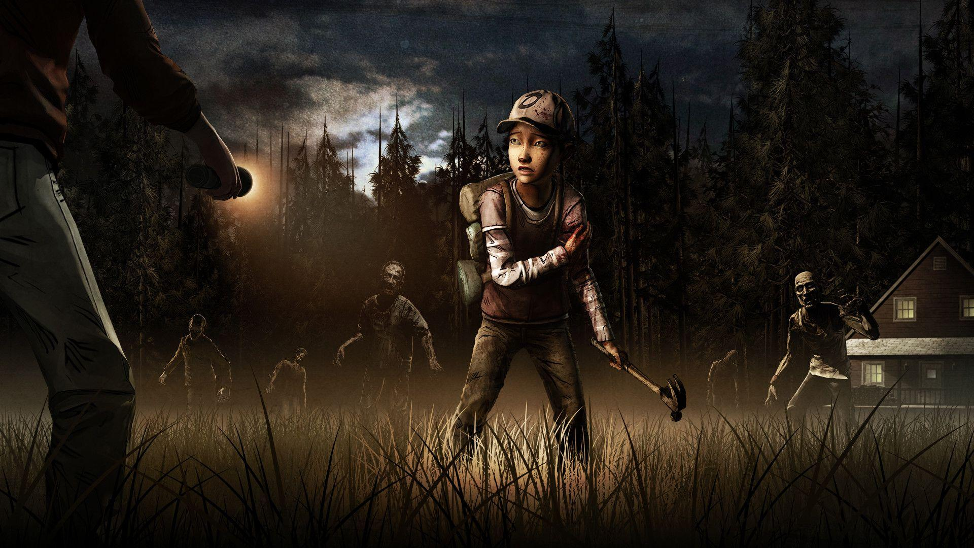 The Walking Dead The Final Season Wallpapers Wallpaper Cave