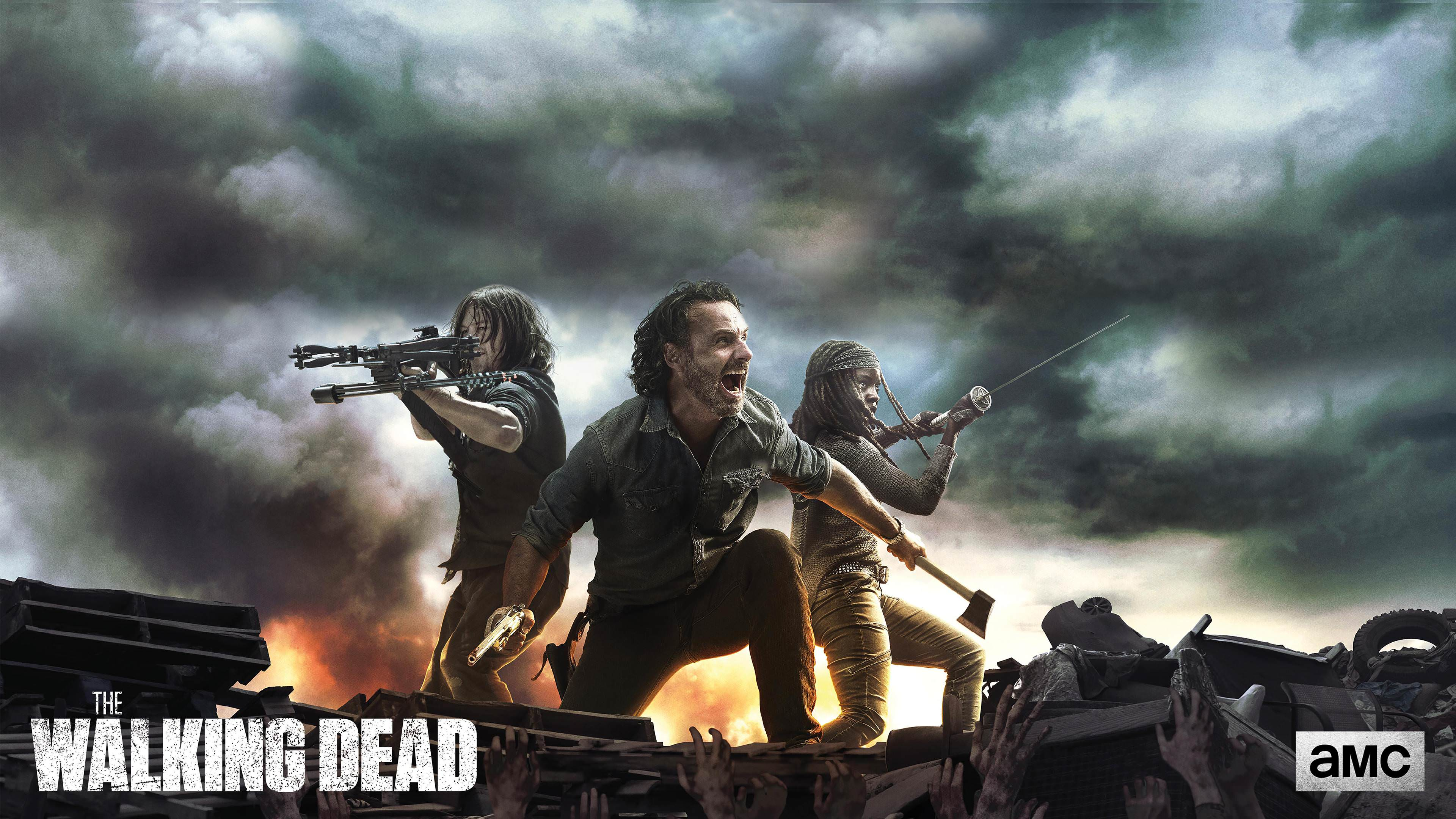 The Walking Dead The Final Season Wallpapers Wallpaper Cave