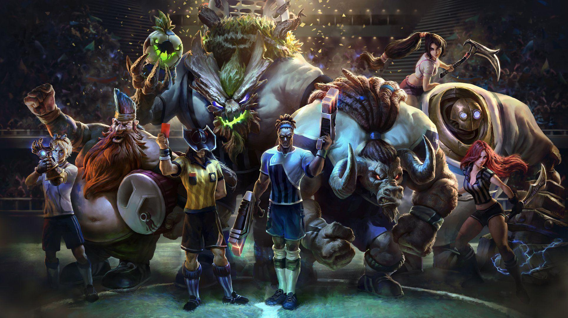 League Of Legends Wallpapers 1080p Wallpaper Cave