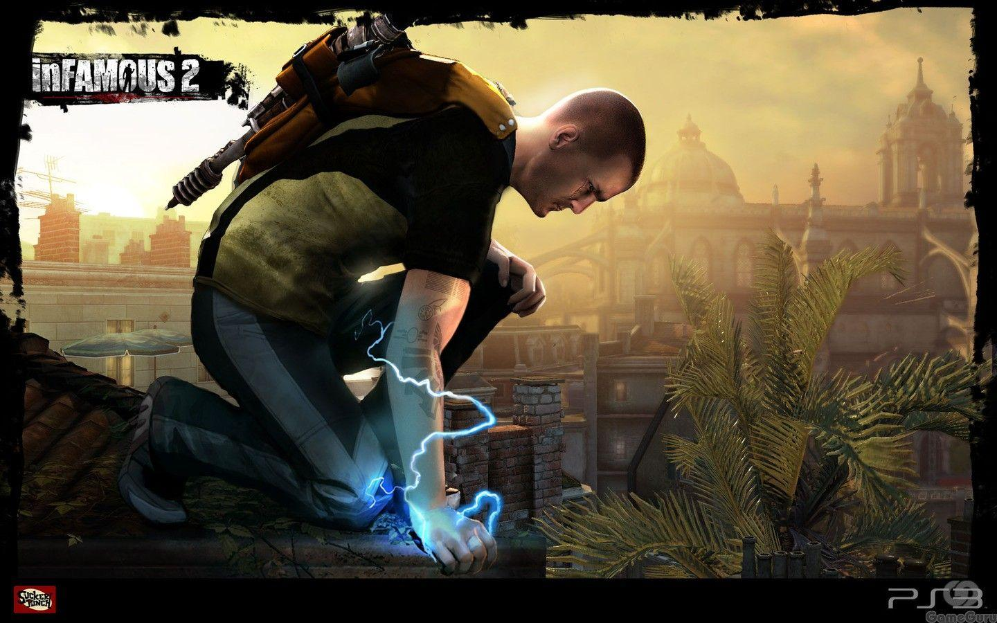 Download the inFamous 2 Wallpaper, inFamous 2 iPhone Wallpapers