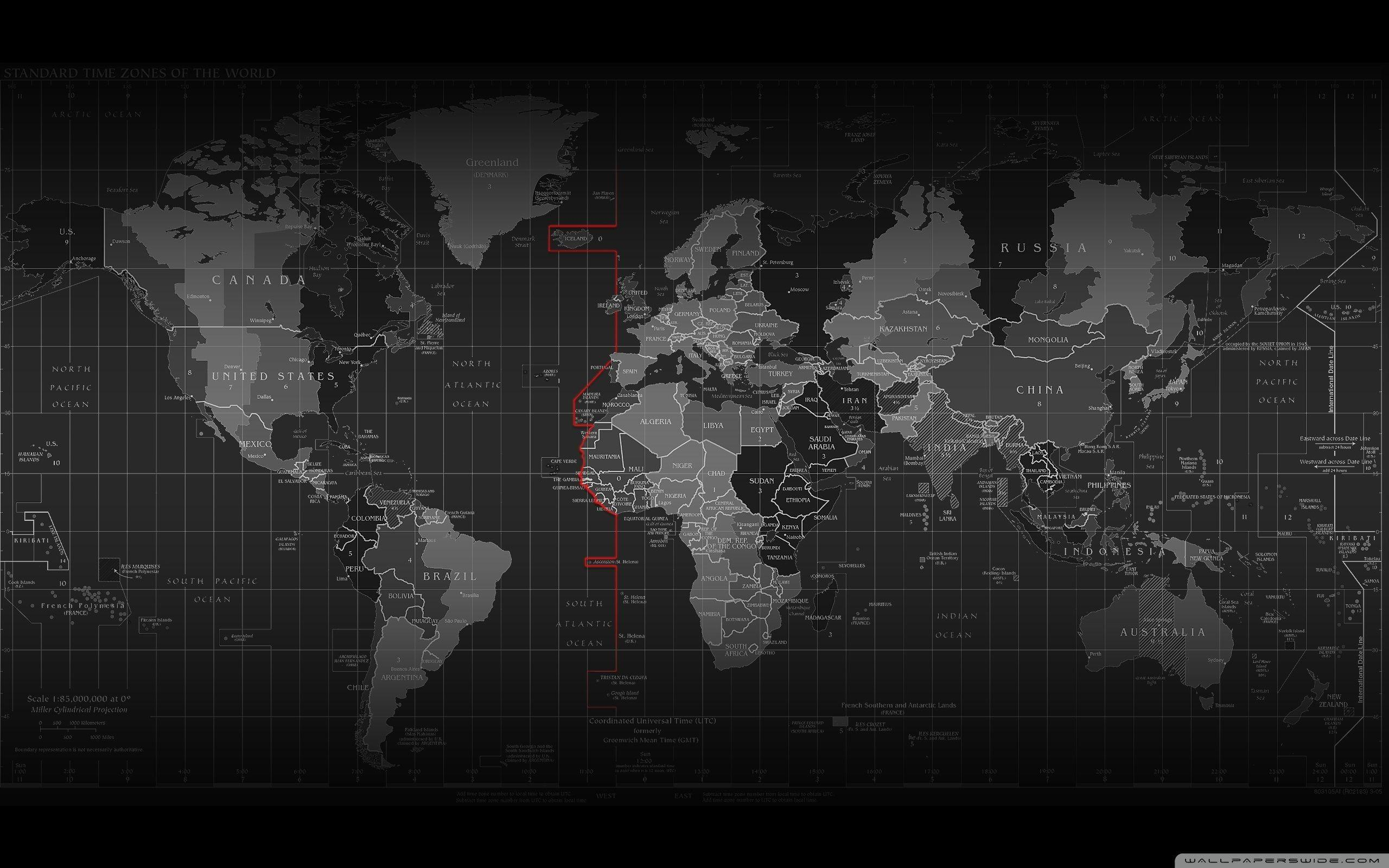 Black World Map Backgrounds Wallpaper Cave - Old world map black and white