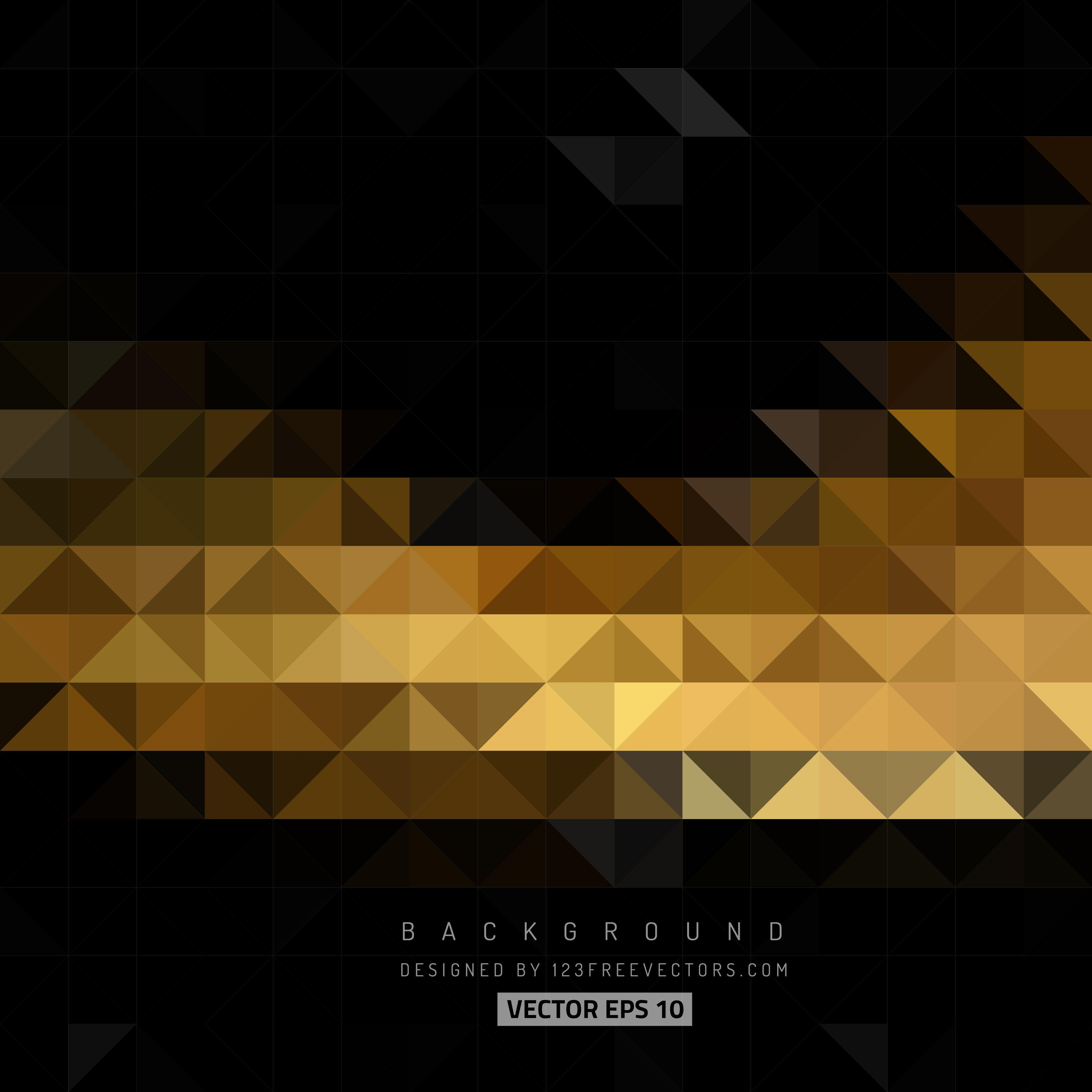Black Gold Backgrounds Vector Wallpaper Cave