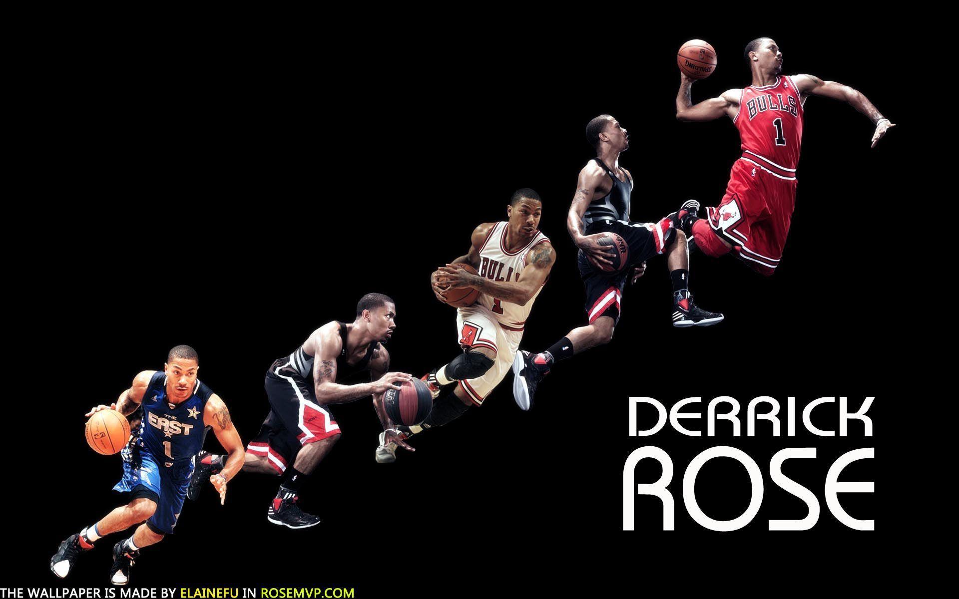 Derrick Rose Dunk HD Wallpaper Background Images