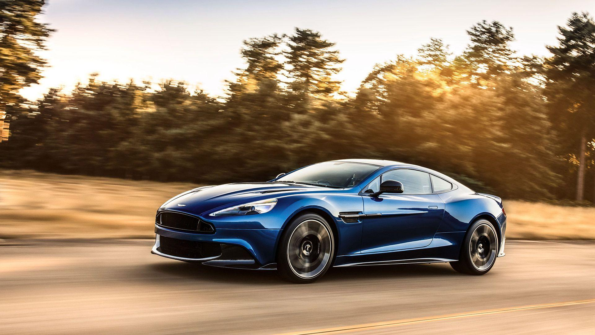 2017 Aston Martin Vanquish S Wallpapers & HD Images - WSupercars