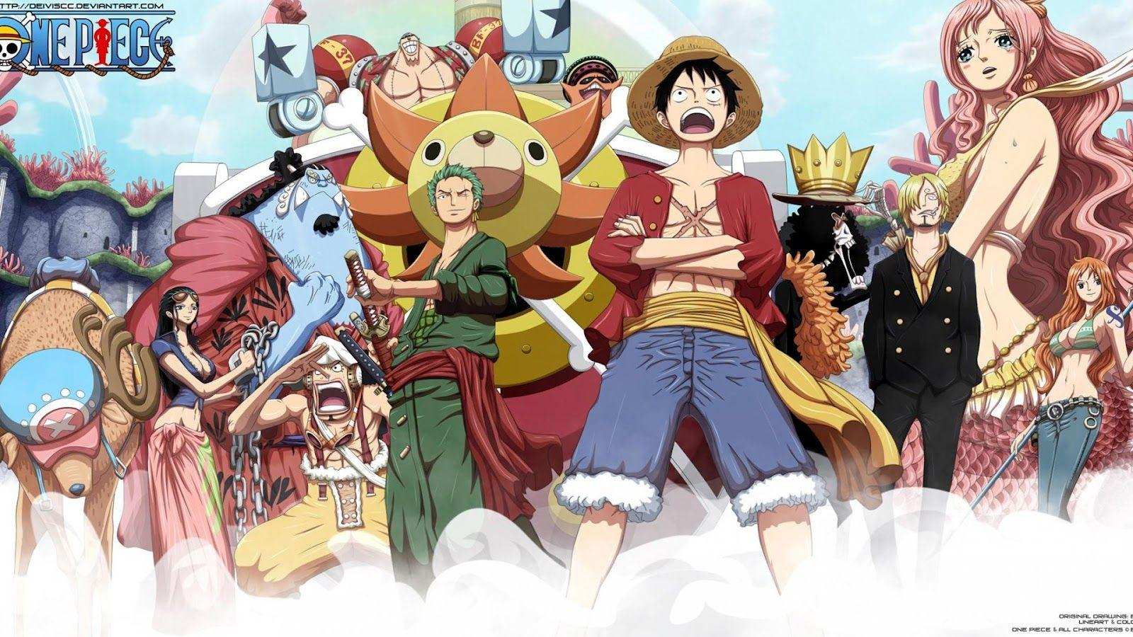One Piece Hd Wallpapers New World Wallpaper Cave