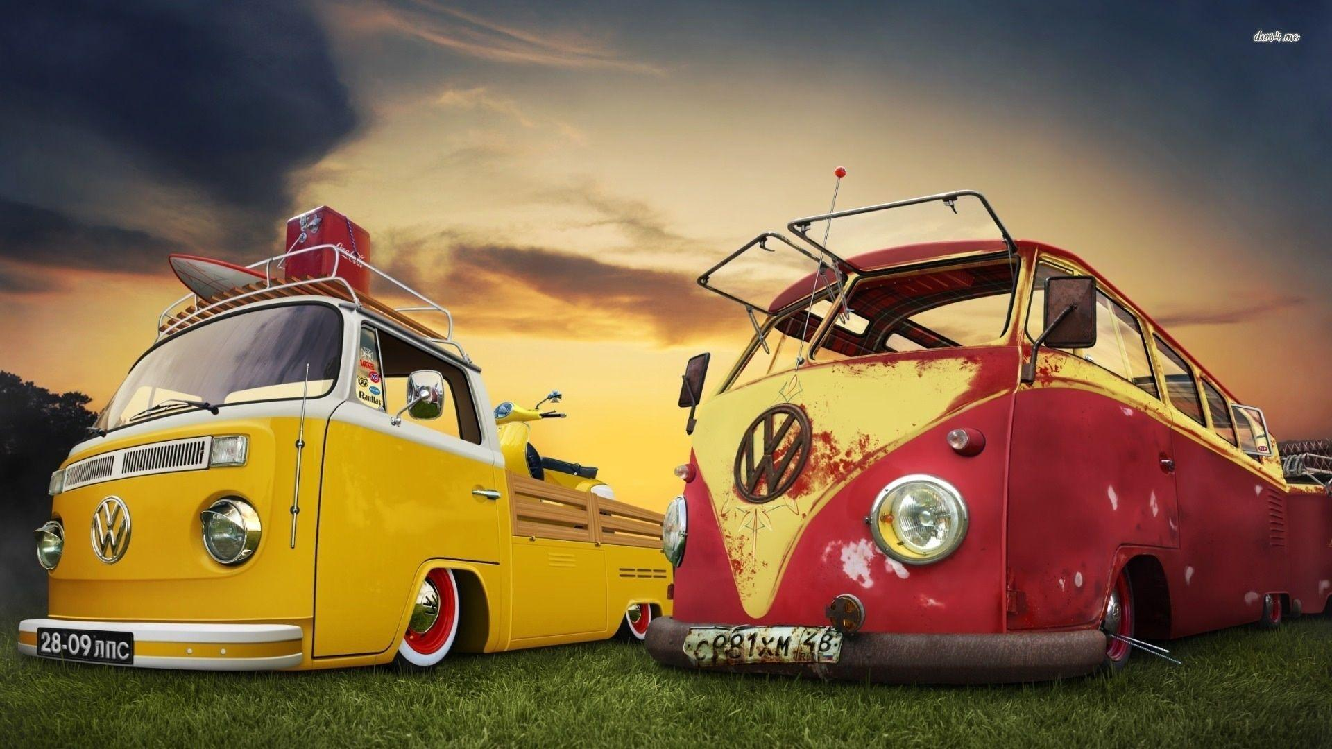 Volkswagen Bus Wallpapers Phone
