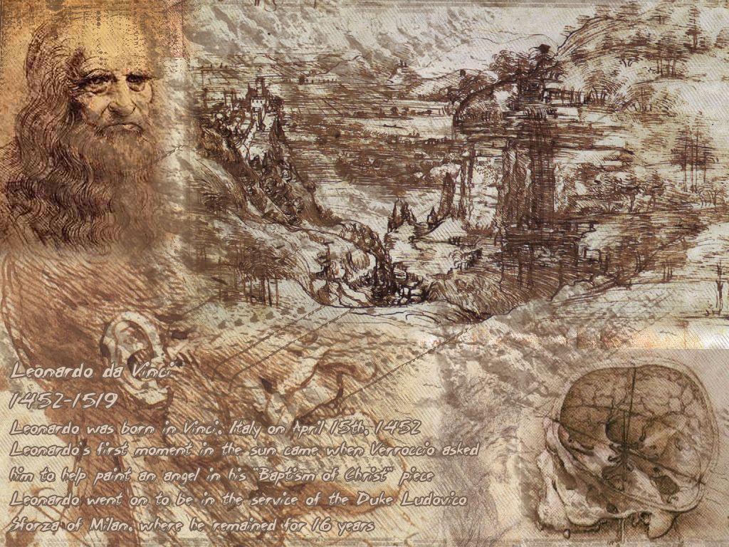 Leonardo Da Vinci Wallpapers Wallpaper Cave
