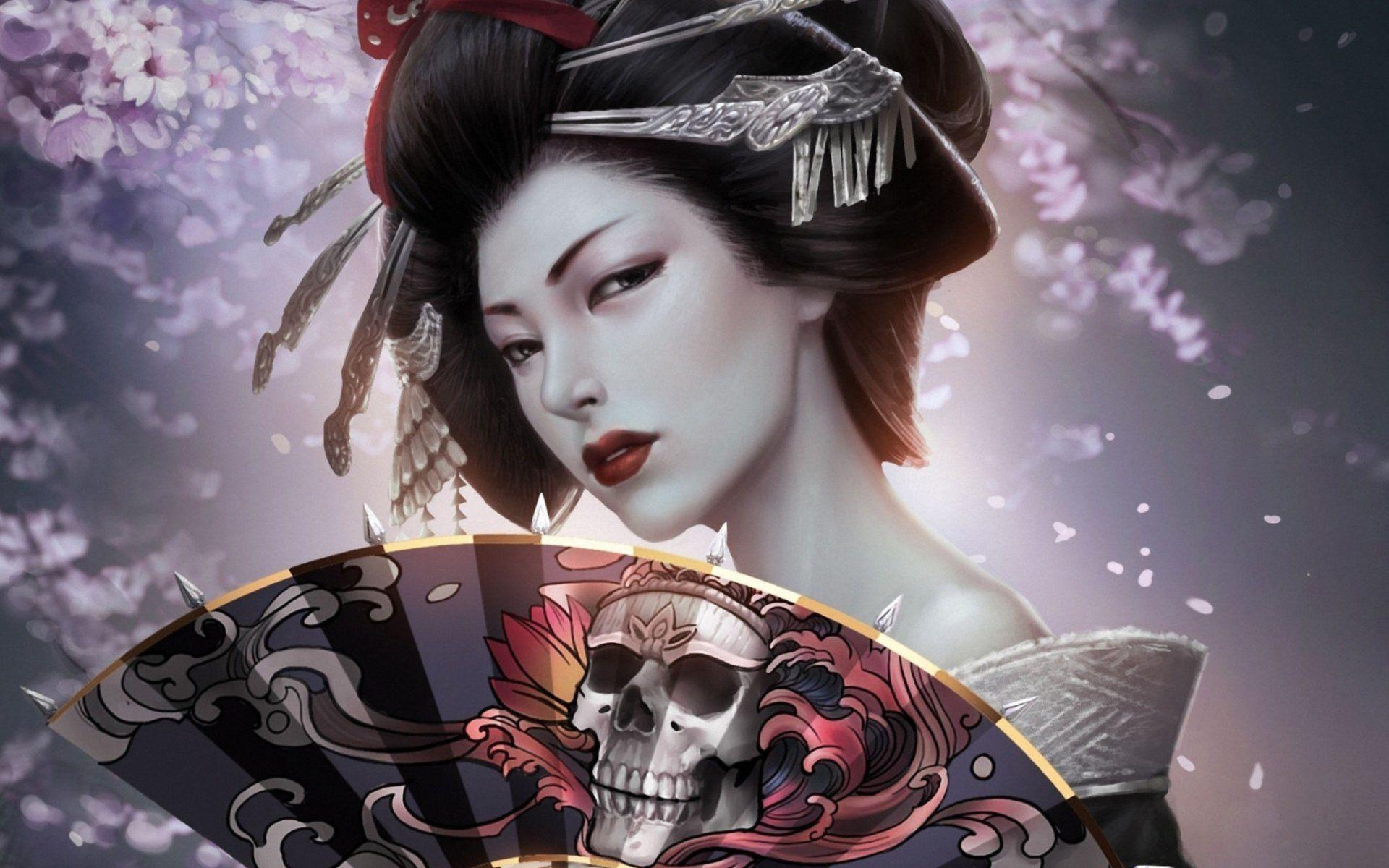 Geisha Wallpapers Hd Wallpaper Cave