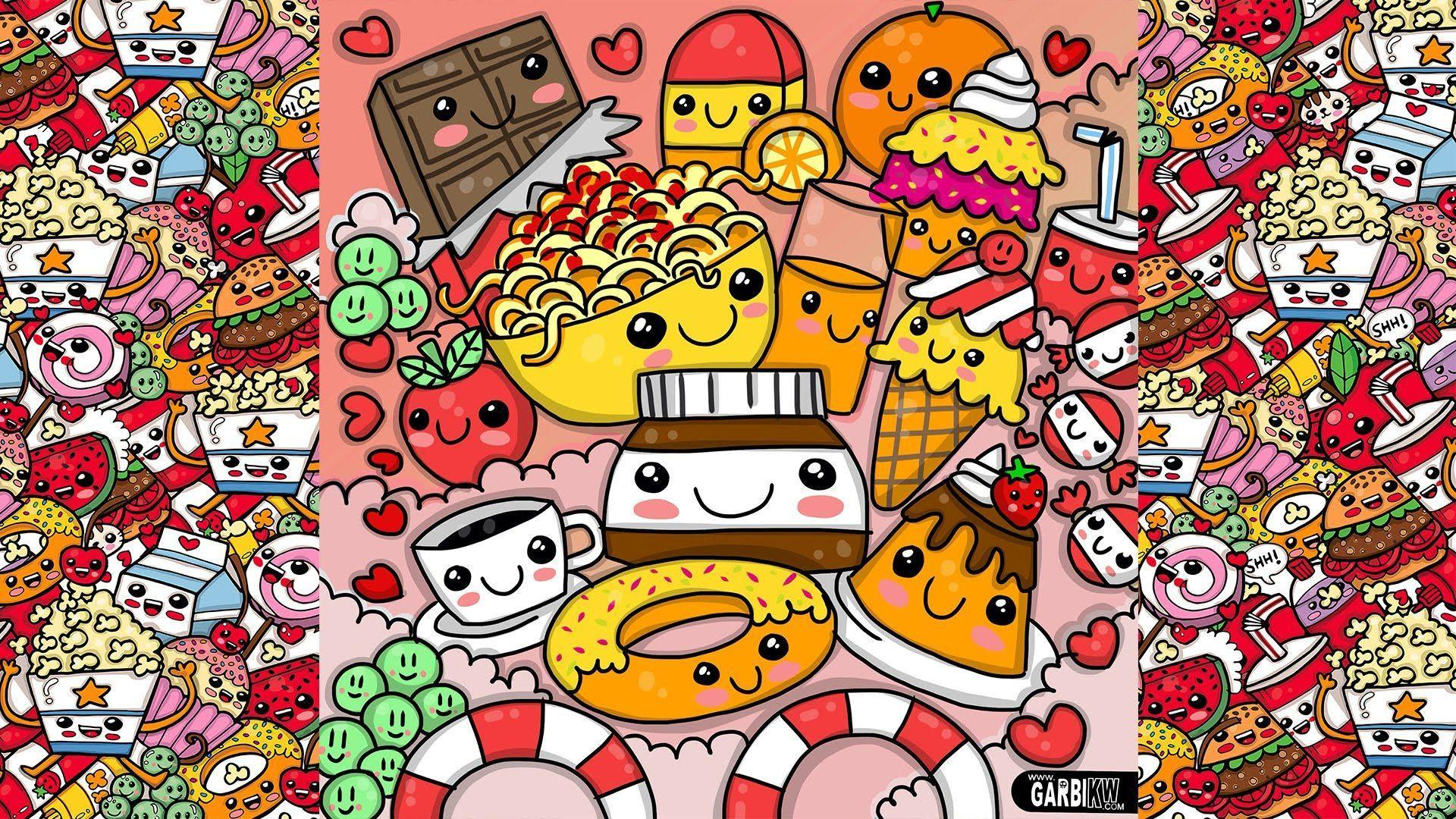 Cute Doodle Wallpapers - Wallpaper Cave