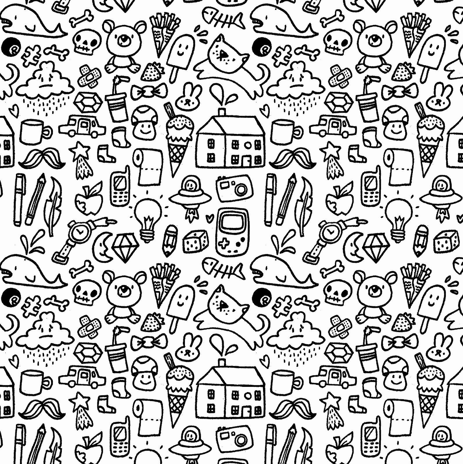 doodle cute wallpapers