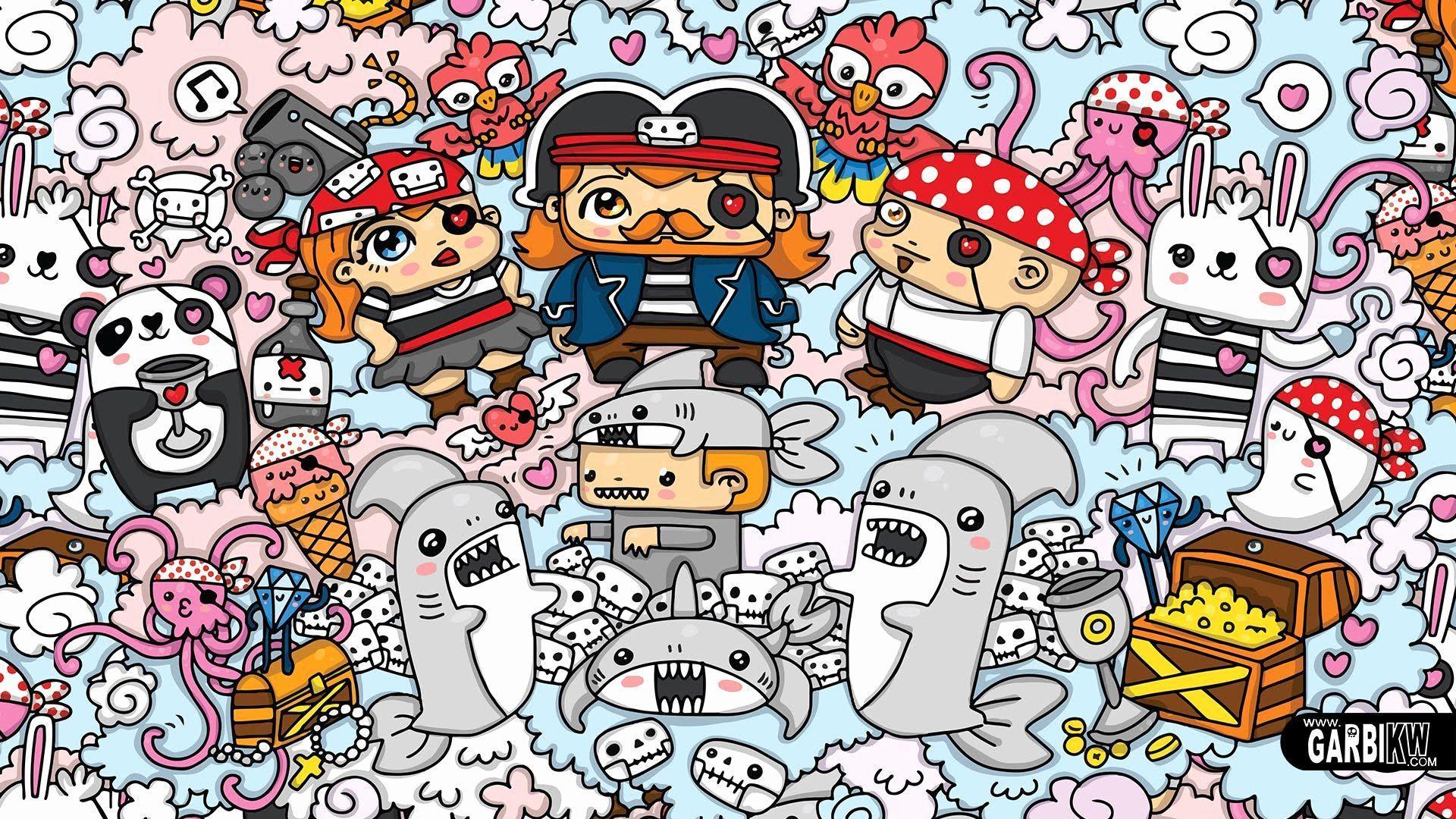 doodles cute graffiti kawaii doodle wallpapers garbi draw kw pirates drawings drawing doodling lgbt