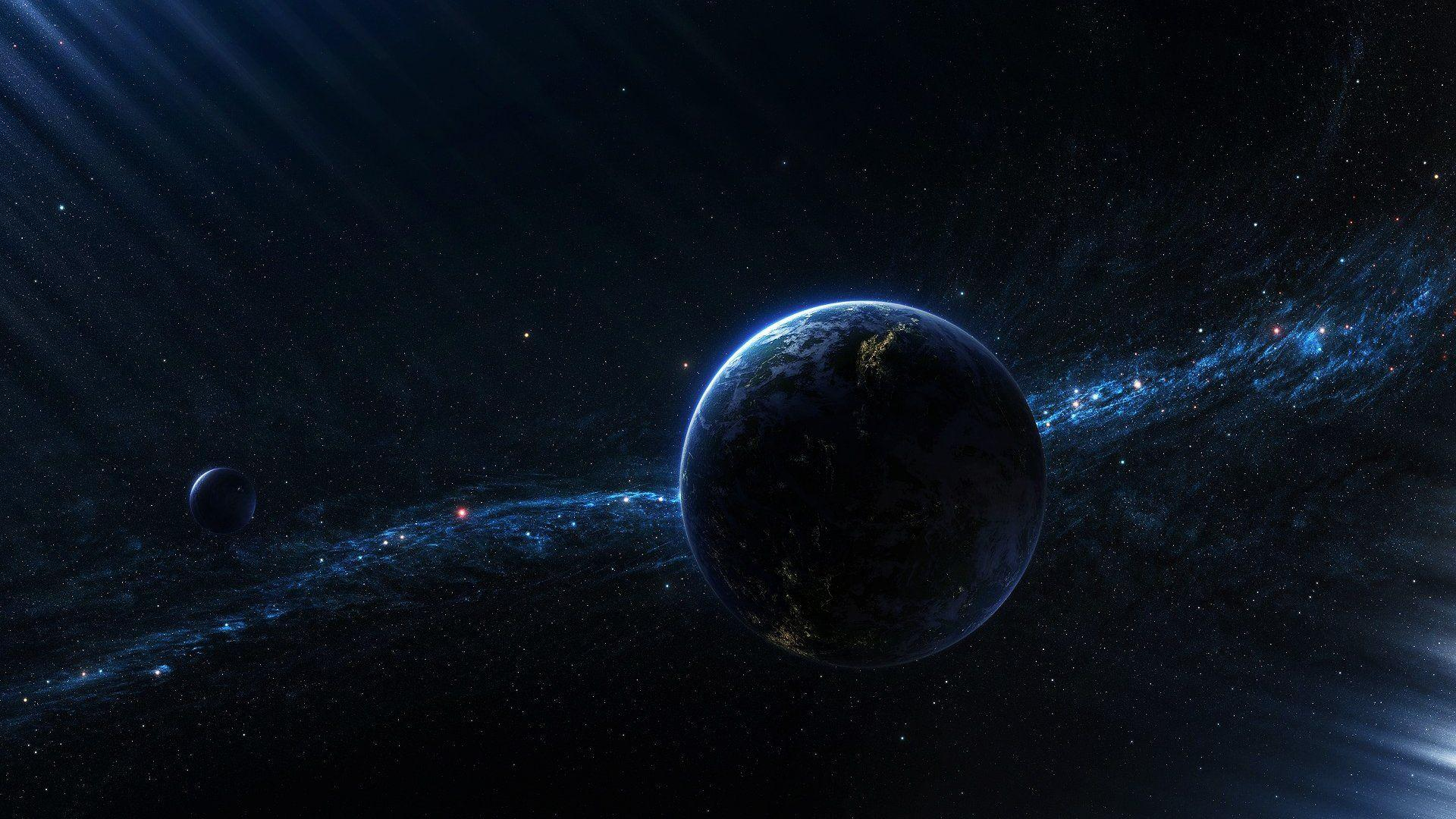 Black Space Wallpapers Hd Wallpaper Cave