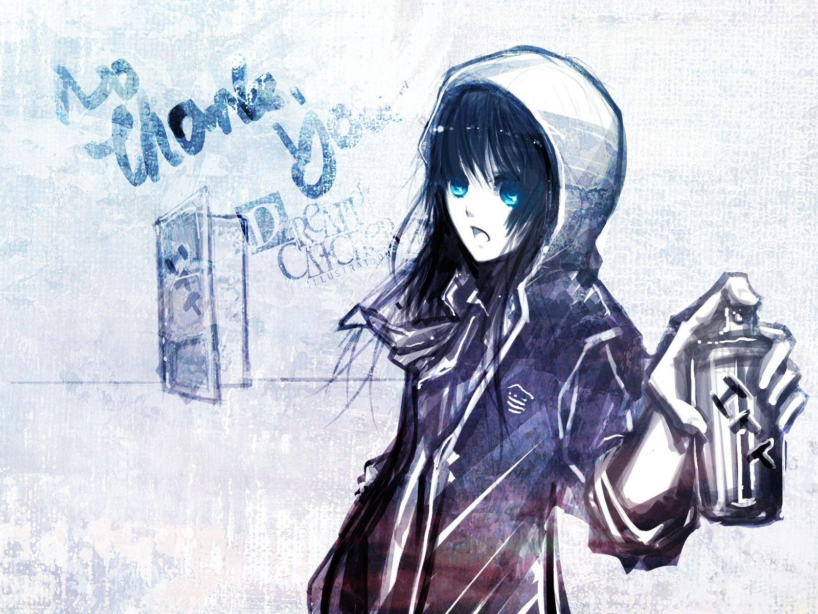 Emo anime boy wallpapers wallpaper cave - Emo scene wallpaper ...