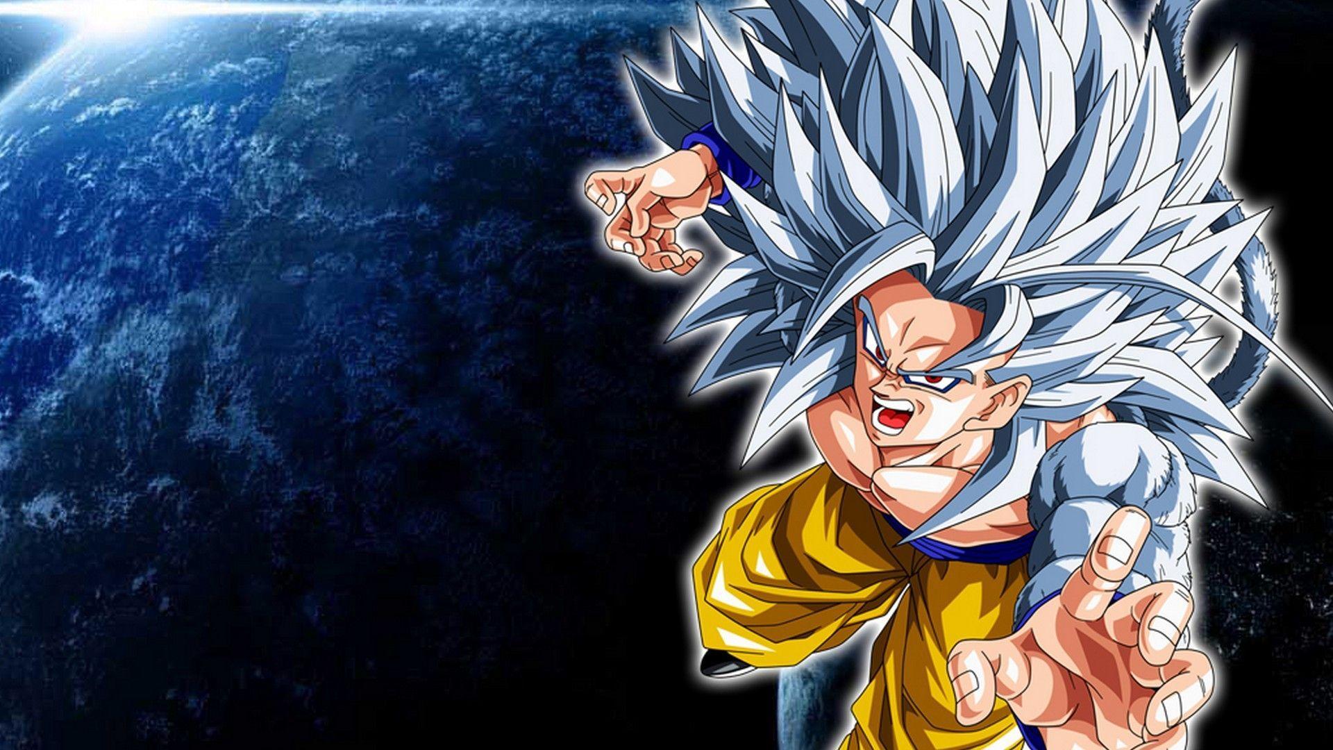 Goku Super Saiyan 5 4k Wallpaper