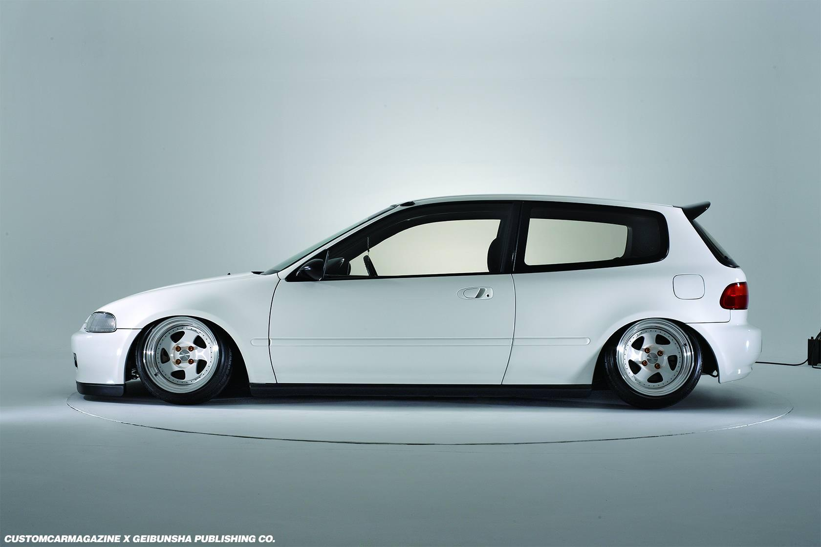New Honda Civic Hatchback Wallpapers White